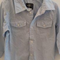 Camisa manga longa - 12 a 18 meses - HM
