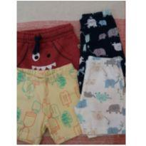 Lote de shorts - 3 a 6 meses - Grow up