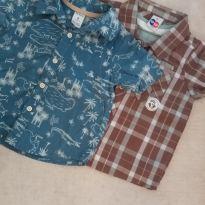 2 camisas - 9 a 12 meses - Carter`s e Tip Top