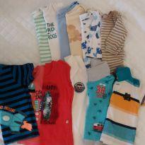 Lote bory/camiseta/polo - 6 a 9 meses - Grow up e Tigor Baby