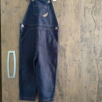 Macacão jeans - 12 a 18 meses - Baby Club