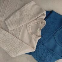 2 Blusas de frio lã - 12 a 18 meses - Sem marca