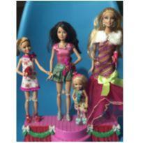 Barbie Um Natal Perfeito Completo e Funcionando -  - Mattel