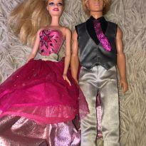 Barbie Moda e Magia e Ken - Mattel -  - Mattel