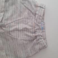 Shorts com listrinhas - 9 meses - Bambini