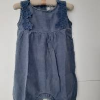 Macaquinho Jeans - 12 a 18 meses - Baby Denim Collection