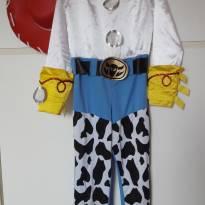 Macacão Jessie - Toy Store - 6 anos - Disney