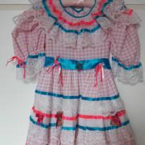 Vestido Junino Lacinhos - 5 anos - Chiquita Bakana (Brasil)
