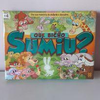 Jogo Que Bicho Sumiu -  - Grow