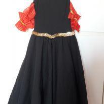 Vestido Espanhola - 6 anos - Importada