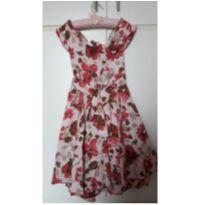 Vestido Floral Maravilhoso - 5 anos - Paola Da Vinci