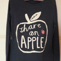 Camiseta Apple - 6 anos - H&M