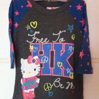 T-shirt Hello Kitty - 6 anos - Hello  Kitty