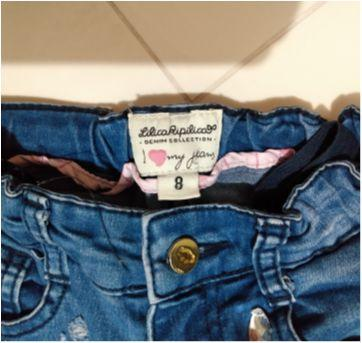 Calça jeans Lilica Ripilica - 8 anos - Lilica Ripilica
