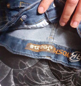 Bermuda jeans - 4 anos - Veste Anjo