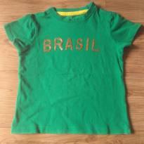 Camiseta Brasil - 3 anos - Riachuelo