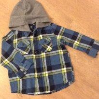 Camisa  Gap xadrez - 18 meses - GAP