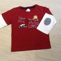 Camiseta manga longa - 3 anos - Pequeno Anjo