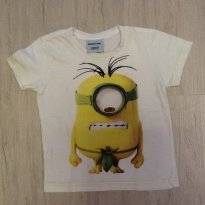 Camiseta minions - 2 anos - Ilumination