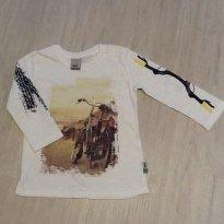 Camiseta manga longa - 2 anos - Puc