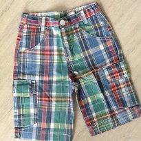 Bermuda look - 5 anos - Look jeans