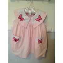 Vestidinho de borboletas - 2 anos - Baby Club