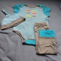 Pijama algodao 3 pcs - 18 a 24 meses - Off Spring