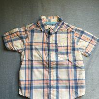 Camisa xadrez Carter's 2 anos - 2 anos - Carter`s