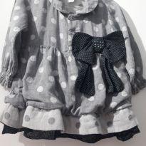 Vestido de bebê 1 aninho - 1 ano - Sonho Mágico