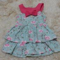 Vestido de babado - 3 a 6 meses - Hello  Kitty