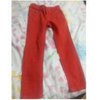 Calça vermelha - 2 anos - Calvin Klein