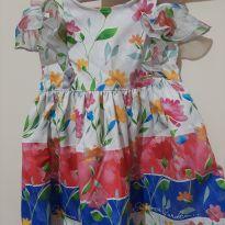Vestido floral - 2 anos - Alphabeto