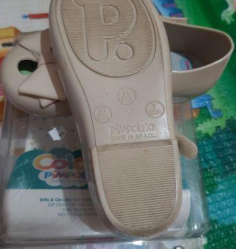 Sapatilha nude pimpolho - 25 - Pimpolho