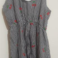 Vestido alcinha cerejinha - 4 anos - Pituchinhus