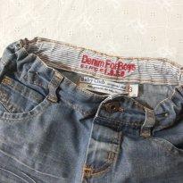 bermuda jeans - 3 anos - Denim