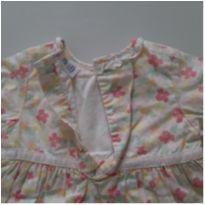 Vestido floral - 3 a 6 meses - Baby Gap