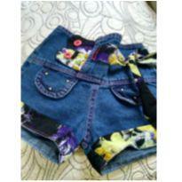 Short jeans - 4 anos - Não informada