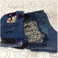Kit shorts jeans - 4 anos - Não informada