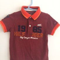 Blusa Polo Tommy Hillfiger - 1 ano - Tommy Hilfiger