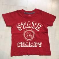 Camisa Malha Carters - 9 a 12 meses - Carter`s