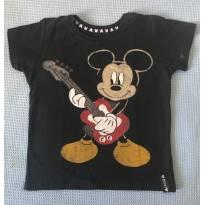 Camisa Malha Mickey - 2 anos - Disney