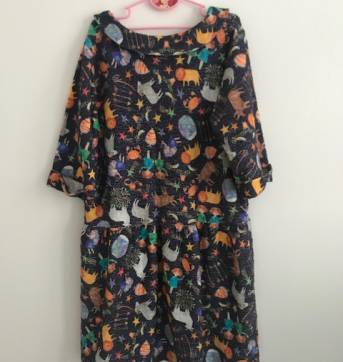 Vestido Fábula - 10 anos - Fábula