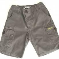 Bermuda Cinza DKNY - 1 ano - DKNY