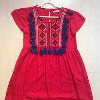 Vestido vermelho LeLisBlanc - 8 anos - Le Lis Petit