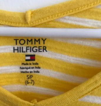 Blusa Listras Tommy - 6 anos - Tommy Hilfiger