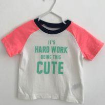 Camisa Carters Baby - 9 meses - Carter`s