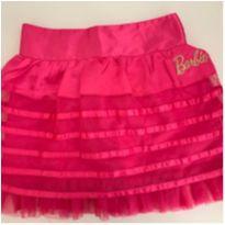 Saia Barbie Rosa - 6 anos - Cea, click house