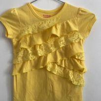 Blusa babadinhos amarela - 5 anos - Garanimals