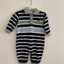 Macacão Linha Noruega - 3 a 6 meses - Noruega Baby