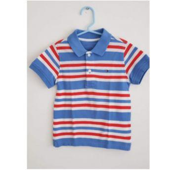 Camisa Polo Tommy Listras - 3 anos - Tommy Hilfiger